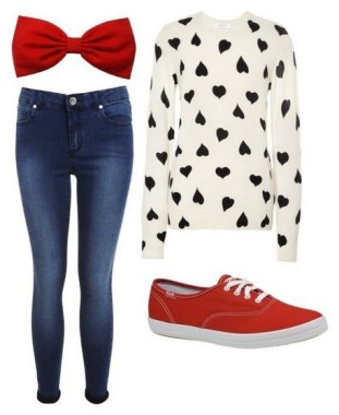 19 Casual Valentines Day Outfits Ideas For Teen Girls 07