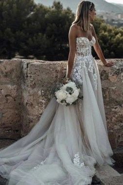 19 Unique Sleeve Wedding Dress Trends Ideas For 2019 14