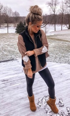 20 Newest Winter Outfit Ideas With Sweater 23