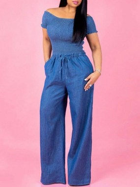 20 Unique Denim Jumpsuit Outfits Ideas For Spring 12