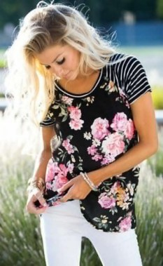 21 Best Ideas To Wear Floral On Spring 08