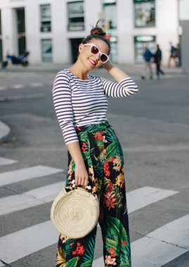 21 Best Ideas To Wear Floral 07