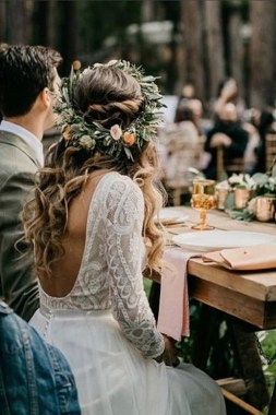 21 Charming Boho Chic Wedding Dresses Ideas 05