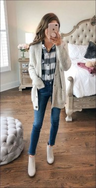 21 Cozy Summer Women Fashion Ideas With Cardigan You Need Try 19