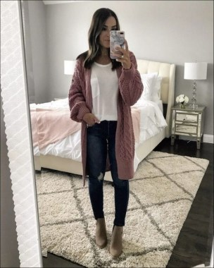 21 Cozy Summer Women Fashion Ideas With Cardigan You Need Try 23