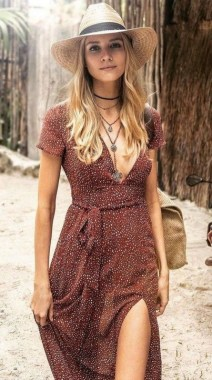 21 Unusual Boho Outfit Ideas For Women Will Love 07