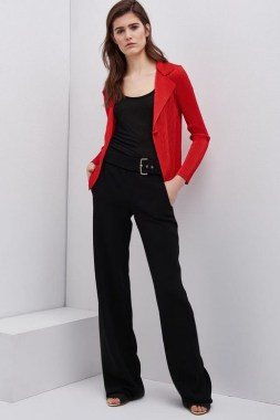 17 Cute Red Blazers Outfit Ideas For Girls 22