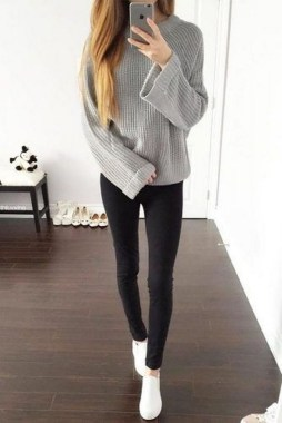 17 Cute Winter Clothes Ideas For Teenage Girl 20