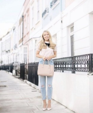 18 Charming Girly Outfit Ideas For Spring 02