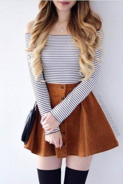 18 Charming Girly Outfit Ideas For Spring 08