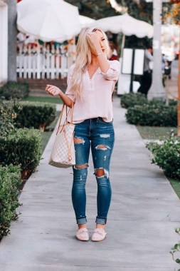 18 Charming Girly Outfit Ideas For Spring 20