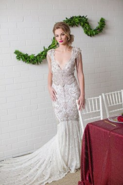 18 Modern Gowns Ideas For A Valentine'S Day Wedding 03