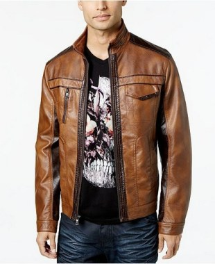 19 Adorable Ways To Wear A Leather Jacket For Men 05