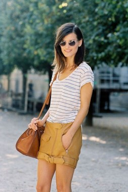 19 Amazing Ideas To Pair Mini Skirt Outfit For Summer 07