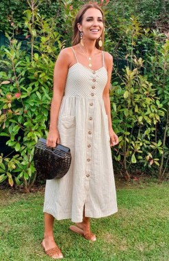 19 Casual Slip Dress Outfit For Spring 2019 17