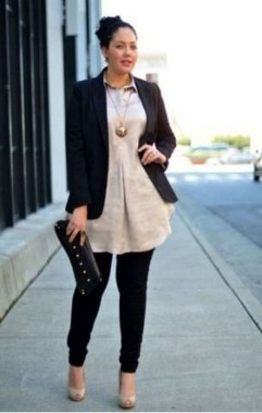 19 Cute Plus Size Winter Fashion Ideas 25