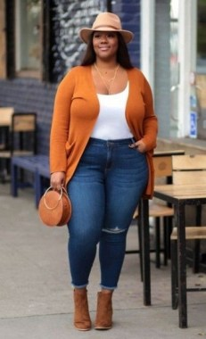 19 Cute Plus Size Winter Fashion Ideas 29