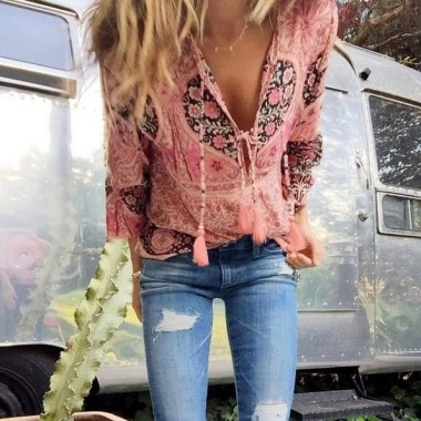 20 Affordable Boho Spring Outfits Ideas 14