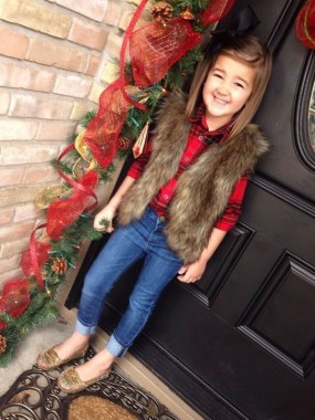 20 Astonishing Christmas Outfits For Small Girls Ideas 07