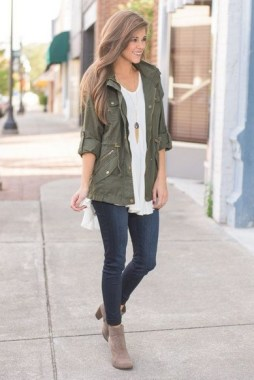 20 Awesome Spring Jacket Outfit Ideas For 2019 03