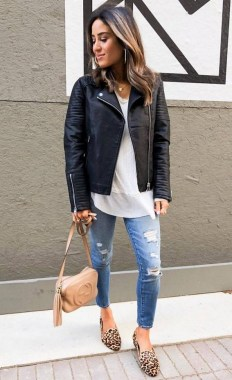 20 Awesome Spring Jacket Outfit Ideas For 2019 27