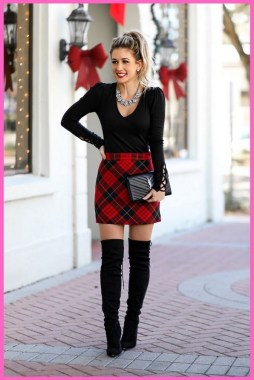 20 Delightful Christmas Outfit Ideas 08
