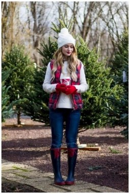 20 Delightful Christmas Outfit Ideas 09
