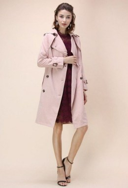 20 Latest Pink Pastel Coat Outfit Ideas 18