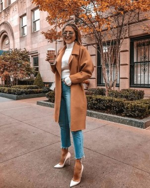 20 Trending Crop Jeans Winter Outfits Ideas 18