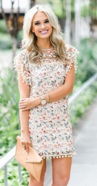 21 Awesome Summer Outdoor Wedding Guest Dresses 12