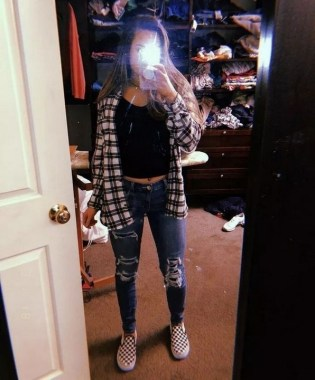 21 Casual Teen Outfits For School With Vans 14