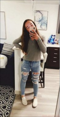 21 Casual Teen Outfits For School With Vans 22