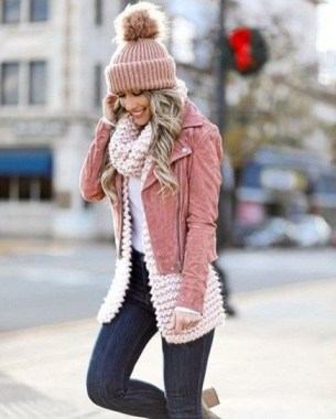 21 Charming Outfits Ideas For Winter 08