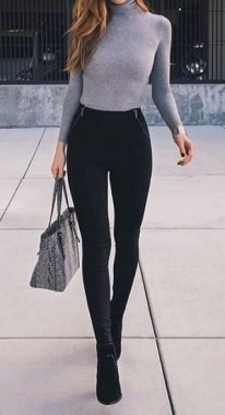 21 Charming Outfits Ideas For Winter 16
