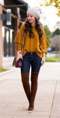 21 Charming Outfits Ideas For Winter 19