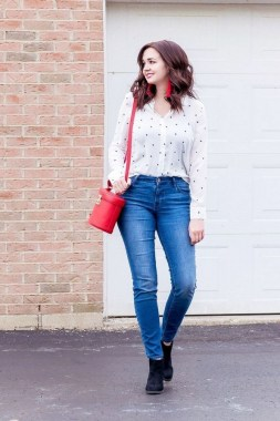 21 Elegant Ankle Jeans Ideas For Valentines Day 27