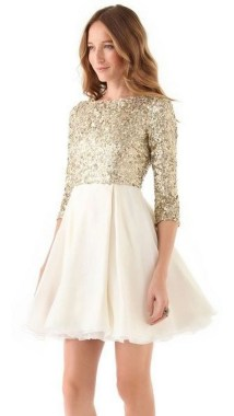 21 Modern Sequined Dresses Christmas New Year Parties Ideas 22