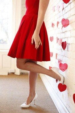 21 Stunning Red Pink Cocktail Dresses Ideas For Valentine'S Day 03