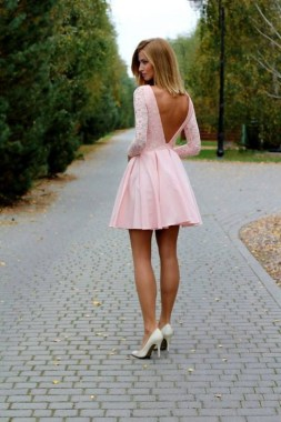 21 Stunning Red Pink Cocktail Dresses Ideas For Valentine'S Day 05