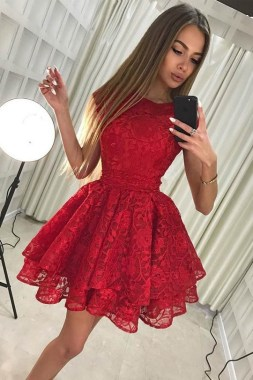21 Stunning Red Pink Cocktail Dresses Ideas For Valentine'S Day 23