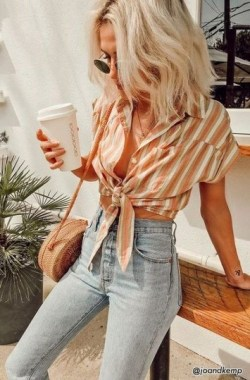 21 Stunning Stripes Outfit Ideas For Spring And Summer 23 1