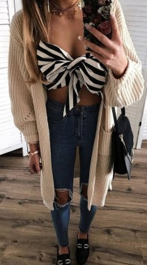 22 Amazing And Chic Cardigans Ideas You Should Already Own 08