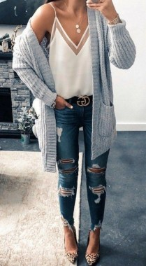 25 Beautiful Fall Outfits Ideas To Wear Everyday 38