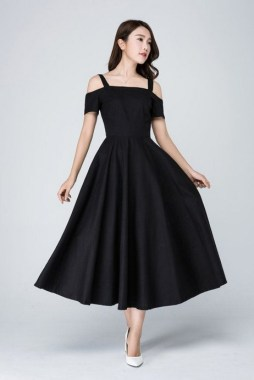 25 Gorgeous Little Black Summer Dress Ideas 26
