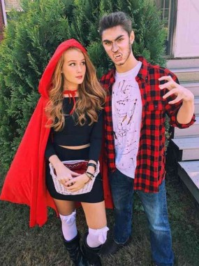 26 Unique And Creative Halloween Couples Costumes Ideas 27