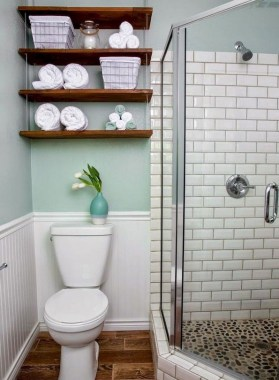 28 Free Beautiful Small Bathroom Design With Nice Decoration 2019 33
