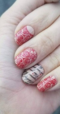 28 Free Valentine's Day Nail Ideas That We Are Not Tacky 2019 11