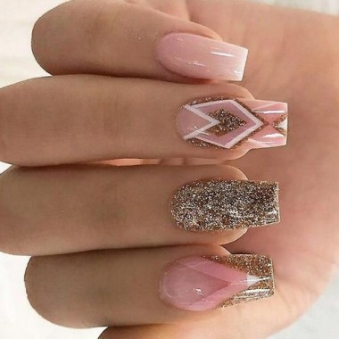 20 Fashionable Patterns For Winter Nail Arts 15
