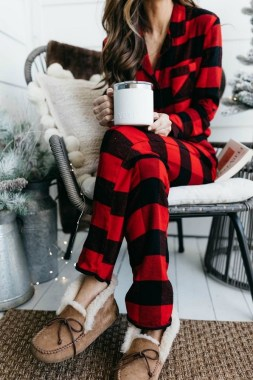 21 Comfy Winter Pajamas To Look Cute And Feel Warm 24