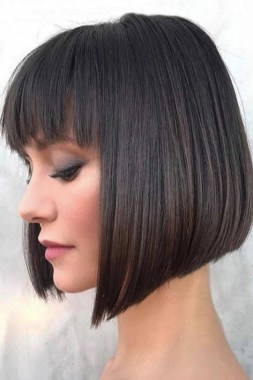 21 Popular Bob Haircut With Bangs You Should Try 09